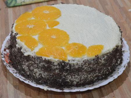 Домашний торт на день рождения