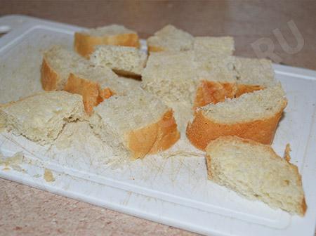 Омлет с хлебом