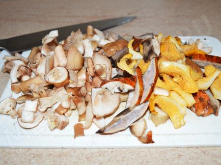 Жарёха с грибами