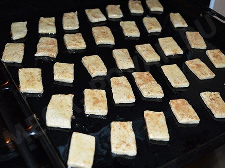 слоеное печенье с сахаром