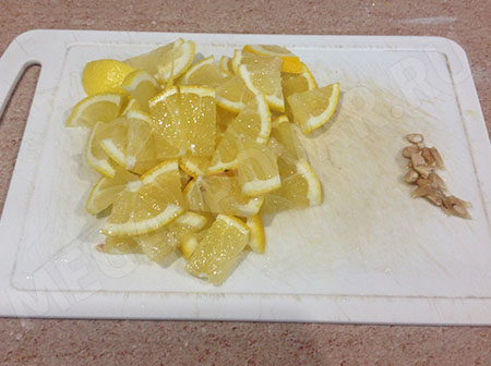 Лимонник из песочного теста