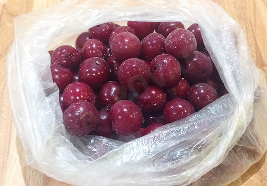 Заморозка вишни