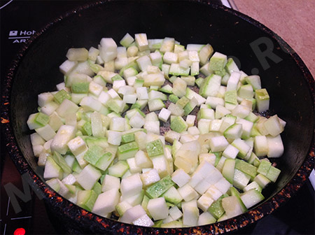Кабачки в соевом соусе