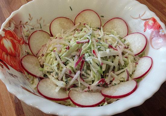 простой летний салат