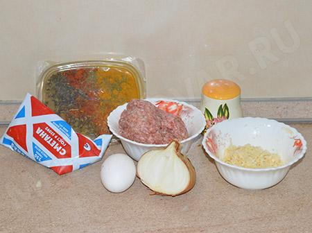Тефтели с сыром в сметанном соусе