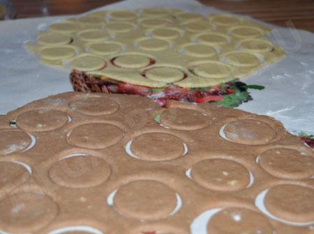 Творожное печенье Розочки