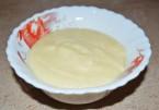 Заварной крем на молоке